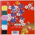日本の色和紙(100枚入) 15cm角