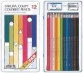 クーピー色鉛筆12色
