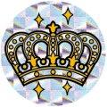 王冠シール